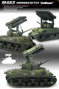 Academy 13254 1//35 M4A3 Sherman Calliope