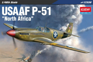 "Academy 12338 1/48 P-51 Mustang / Mustang Mk.IA ""North Africa"""
