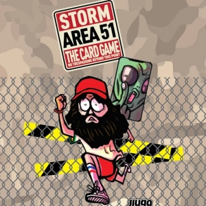 Storm Area 51 [Board Game]