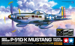 "Tamiya 60323 1/32 North American P-51D/P-51K/F-6D Mustang ""Pacific Theater"""