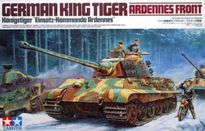 "Tamiya 35252 1/35 King Tiger ""Production(Henschel) Turret"" ""Ardennes Front"""