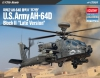 "Academy 12551 1/72 U.S. Army AH-64D Block II Apache Longbow ""Late Version"""