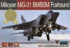 AMK 88003S 1/48 Mikoyan MiG-31BM/BSM Foxhound (Limited Edition)