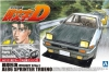 "Aoshima ID-01(00813) 1/24 Takumi Fujiwara(藤原拓海)'s Toyota AE86 Sprinter Trueno ""Project D Version"" [Initial-D]"