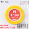 Aizu Project 2001-2 Micron Masking Tape (0.7mm)
