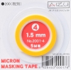 Aizu Project 2001-4 Micron Masking Tape (1.5mm)
