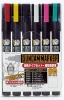 Mr Hobby GMS110 Gundam Marker Fine Tip Set 1 (6 Colors)