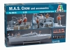 Italeri 5611 1/35 M.A.S. Crew & Accessories (6 Figures)