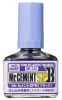 Mr Hobby MC132 Mr. Cement SPB <Black> [Extra Thin Cement] (40ml)