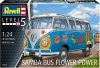 "Revell 07050 1/24 Volkswagen Type 2 (T1) Samba Bus ""Flower Power"""