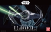 Bandai 0191407 1/72 Tie Advanced x 1 [Starwars]