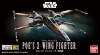 Bandai VM003(0206319) Vehicle Model 003 Poe's X-Wing Fighter [Starwars]