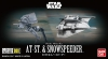 Bandai VM008(0215632) Vehicle Model 008 AT-ST & Snowspeeder [Starwars] (2 Kits)