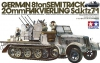 Tamiya 35050 1/35 German 8ton Semi Track 20mm Flakvierling Sd.kfz.7/1