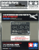 Tamiya 12624 1/48 Gun Barrels & Photo-Etched Parts for Mitsubishi Zero Fighter (Tamiya 61103 & 61108)