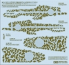 Tamiya 12683 1/72 Camouflage Decals for Kawasaki Type 3 Fighter Ki61-I Tei Hien (60789)