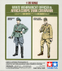 Tamiya 25154 1/35 WWII Wehrmacht Officer & Africa Corps Tank Crewman