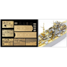 Tamiya 25181 1/350 Bismarck 1941 Detail Up Set (by PONTOS)