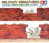Tamiya 35028 1/35 Brick Wall Set