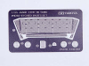 Tamiya 35278 1/35 Photo-Etched Parts for JDSDF Type 90 Tank