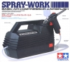 Tamiya 74520(110V) Spray Work Basic Compressor Set w/0.3 mm nozzle size Airbrush