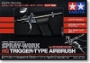 Tamiya 74540 Spray-Work HG Trigger-Type Airbrush [0.3mm Nozzle Size] (Double Action)