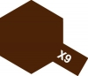 Tamiya Acrylic Color X-9 Gloss Brown