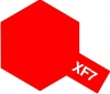 Tamiya Acrylic Color XF-7 Flat Red
