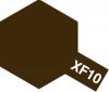 Tamiya Acrylic Color XF-10 Flat Brown